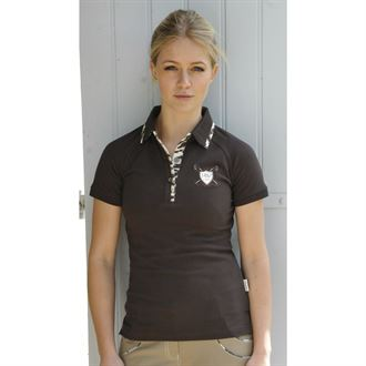 Horseware® Newmarket Ladies' Luna Fitted Cotton Mesh Polo Shirt