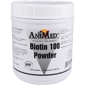 AniMed™ Biotin 100 Powder - 2.5 lb