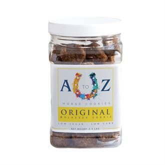 A to Z Horse Cookies Original Molasses Flavor - 2.5 lb