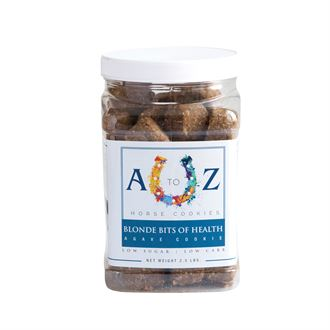 A to Z Horse Cookies Blonde Bits of Health - 2.5 lb