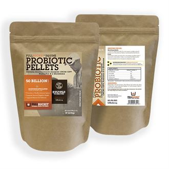 Full Bucket® Equine Probiotic Pellets