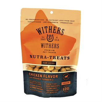 Withers & Withers Vegan Roast Chicken Nutra-Treats for Dogs