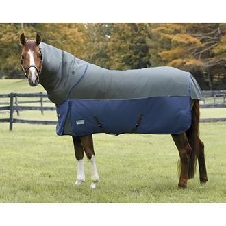 NorthWind® by Rider's International® Plus Detach-A-Neck Medium Weight Turnout Blanket