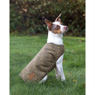 Dover Saddlery® Small Bit-by-Bit™ Fleece Dog Coat