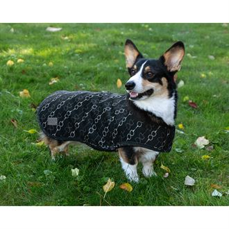Dover Saddlery® Large Bit-by-Bit™ Fleece Dog Coat