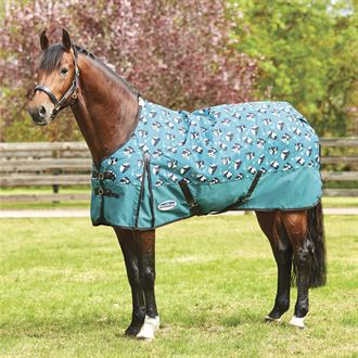 WeatherBeeta® ComFiTec™ Essential Print Medium Weight Turnout Blanket