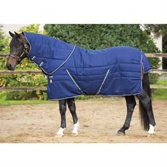 Horseware® Ireland Rambo® Stable Vari-Layer® with Removable Hood - 450 gram