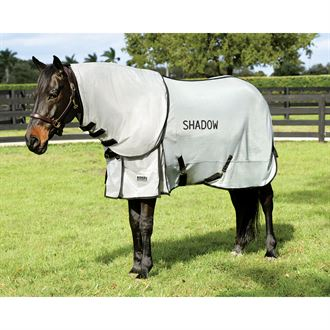 Riders International® by Dover Saddlery® Removable Neck Fly Sheet with Surcingles