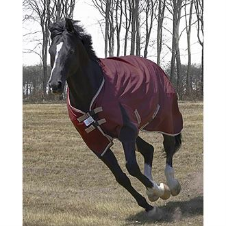 TuffRider Optimum 1680D Triple Weave Herringbone with Medium-Weight Thermo Manager Hi Neck Turnout