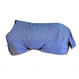 TuffRider® 1200D Ripstop Pony Medium-Weight Turnout Blanket - Horse Print