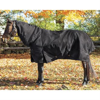 Huntfield's® by Dover Saddlery® Medium-Weight Turnout Blanket with Neck Cover
