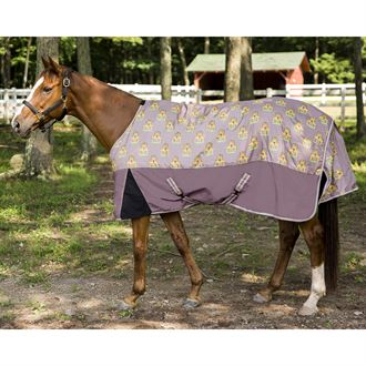 TuffRider® Pony 1200D Ripstop Giraffe Print Standard Neck Medium-Weight Turnout Blanket