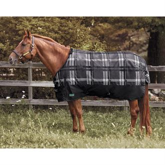 Rider's International by Dover Saddlery® Foxdale Plaid Mid-Weight Turnout Blanket