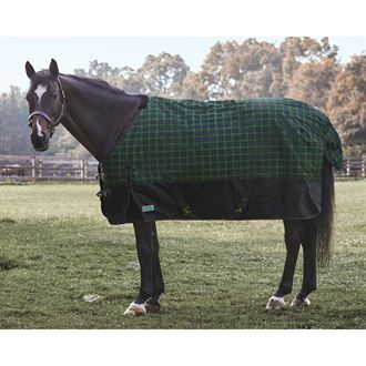 Rider's International by Dover Saddlery® Foxdale Plaid Heavyweight Turnout Blanket