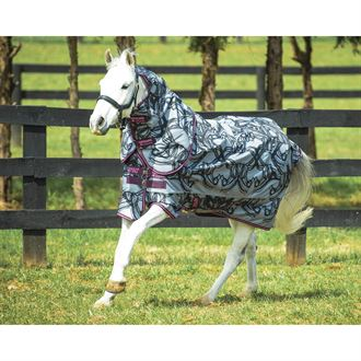 Horseware® Amigo® Pony Plus Medium-Weight Turnout Blanket - 200 grams