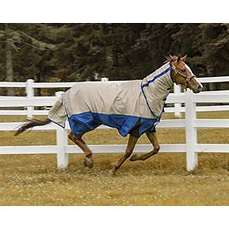 TuffRider® Bonum 1200D Ripstop Medium-Weight Turnout Blanket with Combo Neck
