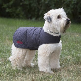 3 Dog Pet Supply Quilted Soft Shell Dog Jacket with Personalization