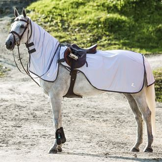 Horze Eira Fly Riding Sheet with Removable Neck