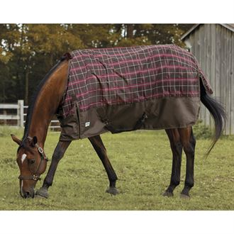 Rider's International by Dover Saddlery® Plaid Turnout Sheet