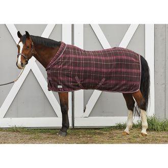 Rider's Internationalby Dover Saddlery® Cozy Neck Plaid Fleece Cooler
