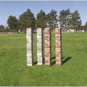Burlingham Sports Stone Column Standards