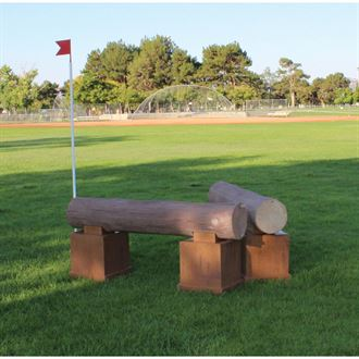 Burlingham Sports Timber Cross Country Jumps - Pair