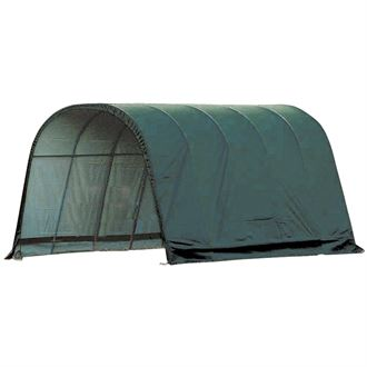 ShelterLogic® 13 x 20 x 10 Round Style Run-In Shelter