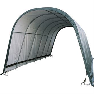 ShelterLogic® 12 x 24 x 10 Round Style Run-In Shelter