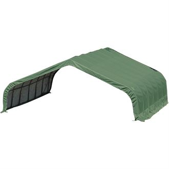 ShelterLogic® 22 x 20 x 10 Peak Style Run-In/Hay Storage Shelter
