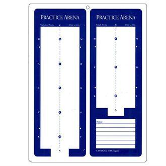 Dressage Practice Arena Dry Erase Board