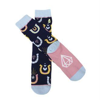 Woven Pear® Ladies' Novelty Crew Socks