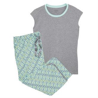 Dover Saddlery® Hit the Hay Summer Tee & Capri Set