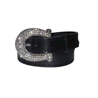Otto Schumacher Crystal Buckle Bracelet