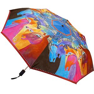 Laurel Burch Wild Horses Umbrella