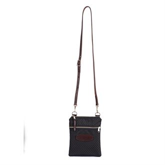 Perri's® Champion Crossbody Bag with Leather Accents