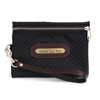 Perri's® Champion Collection Wristlet with Leather Accents and Nameplate