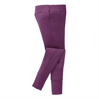 Riding Sport® by Dover Saddlery® Girls' Fleece Knee-Patch Tight