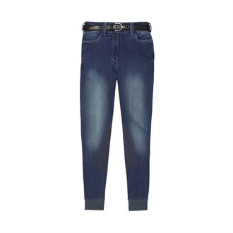 Ariat® Ladies' Denim Knee-Patch Breech