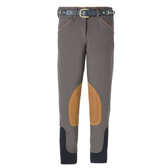 Dover Saddlery® Girls Beverly Double-Grip Knee-Patch Breech
