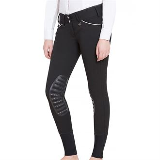 Equine Couture™ Ladies Brittni Silicone Knee-Patch Breech