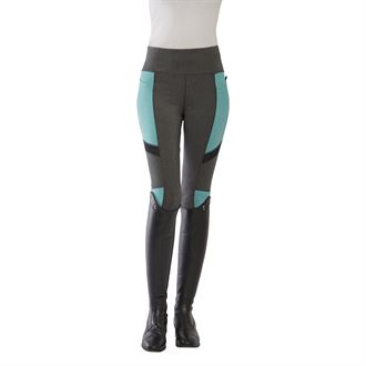 Dover Saddlery® Ladies' Color-Block Full-Seat Tights
