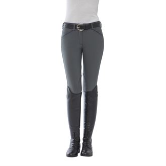 Dover Saddlery® Ladies' Winter Wellesley Silicone Knee-PatchBreech