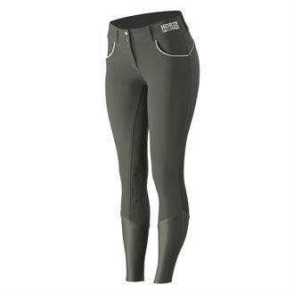 Horze Ladies' Nordic Performance Full-Seat Breech with Silicone Grip