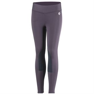 Horze Kids' Active Winter Weight Knee-Patch Tight