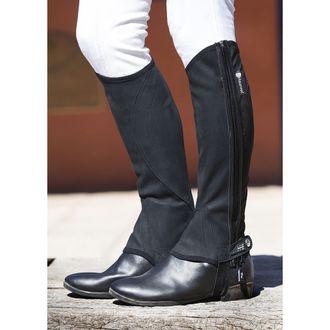 Horseware® Nubuck Stretch Half Chaps (Short)