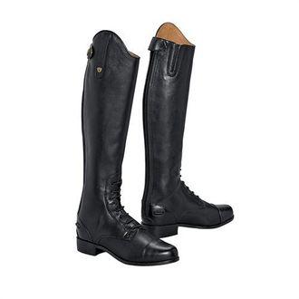 ARIAT Womens Heritage Contour Field Zip Tall Riding Boot Black Size 7.5 B//Medium Us