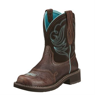 Ariat® Ladies' Fatbaby Heritage Dapper Western Boots