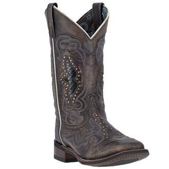 Dan Post® Laredo® Ladies' Spellbound Leather Boots in Black