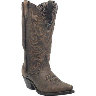 Dan Post® Laredo® Ladies' Access Wide Calf Leather Boots