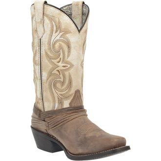 Dan Post® Laredo® Ladies' Myra Leather Boots in Sand